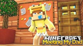 Minecraft Family #12 - BABY DUCK MEETS HIS DAD - Baby Duck Adventures