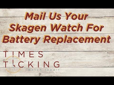 Skagen Watch Battery Replacement
