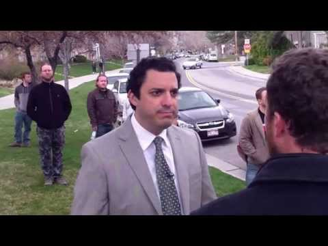 News Interviewing American Atheist President David Silverman