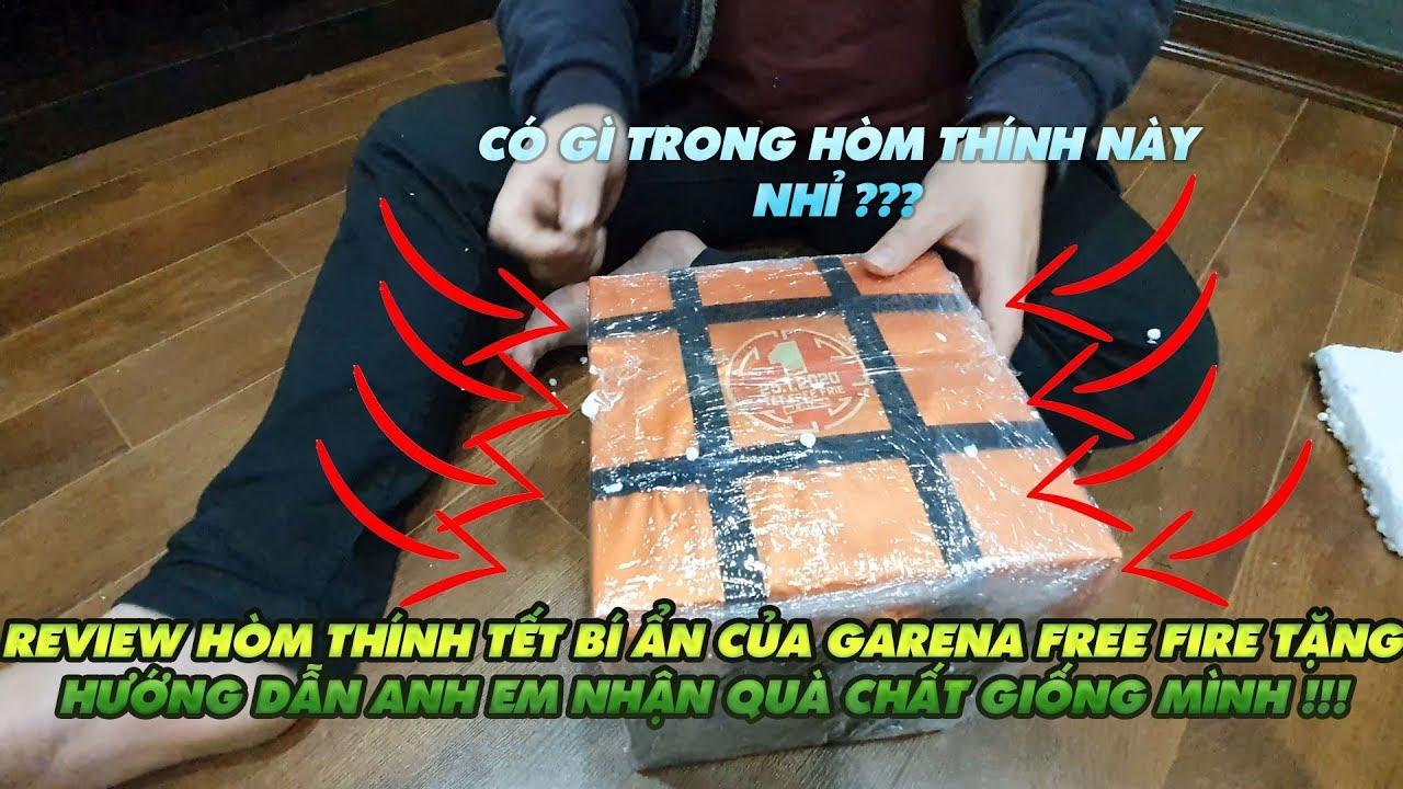 Garena Free Fire| Review hộp quà tết bí ẩn bên Garena gửi tặng – hướng dẫn anh em nhận quà như mình