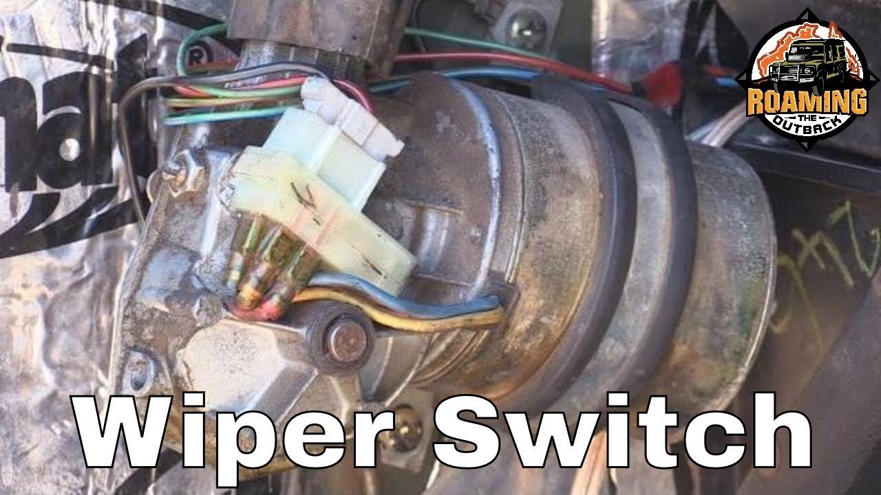 defender wiper motor wiring diagram schema wiring diagramdefender wiper park switch replacement how to get the [ 1280 x 720 Pixel ]