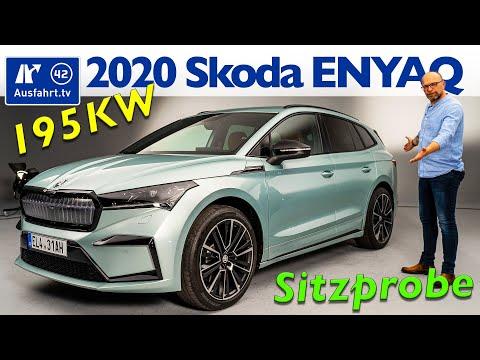 2021 Skoda ENYAQ iV Founder Edition - Weltpremiere, Sitzprobe, Debut, kein Test, alle Fakten