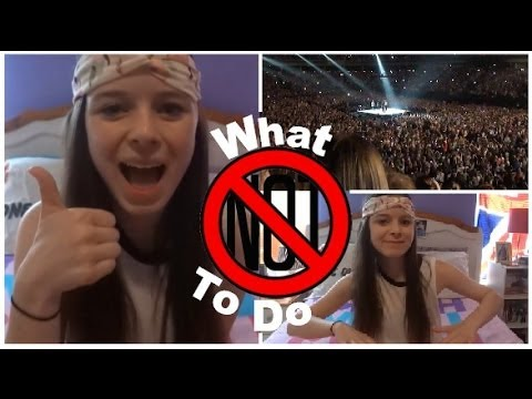 Surviving A One Direction Concert: What NOT To Do!