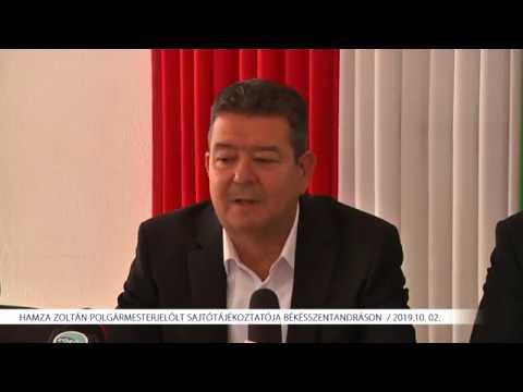 Hamza Zoltán sajtótájékoztatója (2019.10.02.)