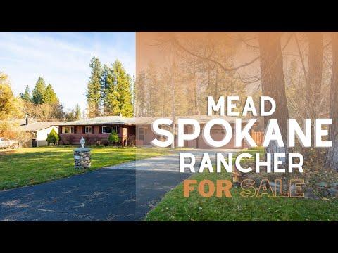Beautiful Mead, Spokane 4 Bed/3 Bath Rancher for Sale