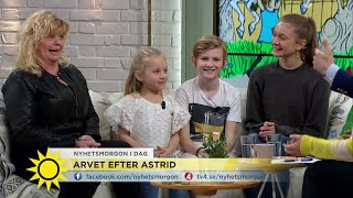Vi minns Astrid Lindgren - tillsammans med Pippi, Ida, Emil och Madicken! - Nyhetsmorgon (TV4)