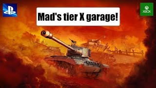 Mad's Tier X Garage! - World of Tanks Console ( Xbox / PS4 )