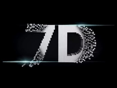 7D  CGI logo | Sound effects | Surround sound | Dolby Atmos | 7D Production™
