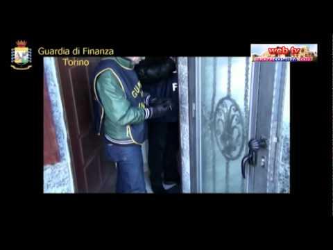 Operazione Gdf Torino contro ndrangheta