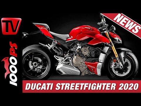 Ducati Streetfighter V4 - Technische Daten und Infos Neues Modell 2020 - Deutsch