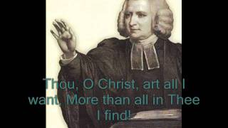 Jesus lover of my soul - Charles Wesley