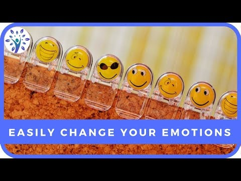 THIS SIMPLE TRICK CAN CHANGE ANY EMOTION | Tips for a Happier Life