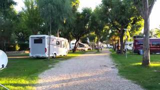 Camping life in October at Eurcamping in Roseto degli Abruzzi