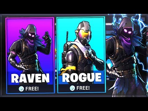 new free raven skin coming to fortnite rogue agent skin giveaway - fortnite rogue agent skin