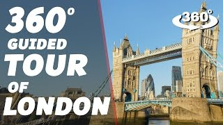 Amazing 360 Guided Tour of London