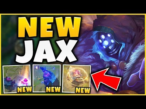 (UNREAL DAMAGE) NEW JAX UPDATES ARE CRAZY! *NEW ABILITY EFFECTS* - League of Legends