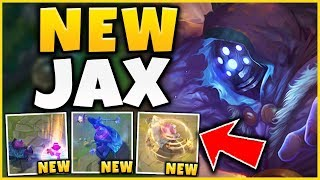 Baixar (UNREAL DAMAGE) NEW JAX UPDATES ARE CRAZY! *NEW ABILITY EFFECTS* - League of Legends