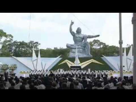 The 70th Nagasaki Peace Ceremony 2015 : English interpretation