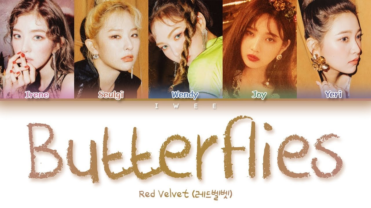 Red Velvet – Butterflies