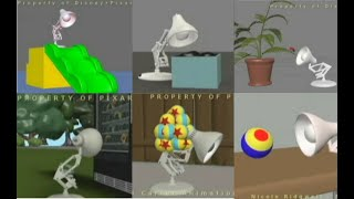 Pixar Lamp Animations from 20112019