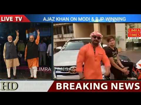 AJAZ KHAN ON #MODI N BJP #GOVERNMENT