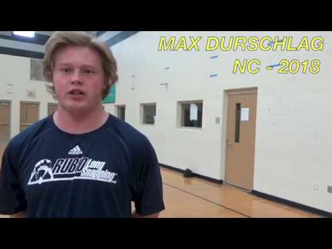 Rubio Long Snapping, Max Durschlag, March 2017