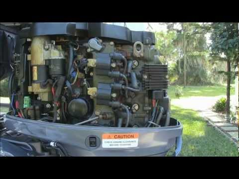 Yamaha F50 TLR Outboard Engine Maintenance