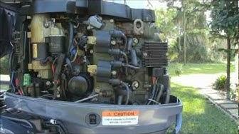 Yamaha F50 TLR Outboard Engine Maintenance