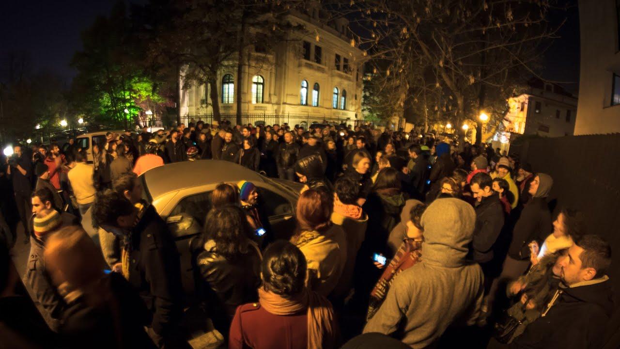 PROTEST / Dreptul la vot pentru alegatorii din diaspora