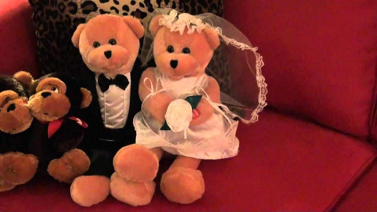 5f26de4eb1d Love and Marriage Singing Bears - YouTube