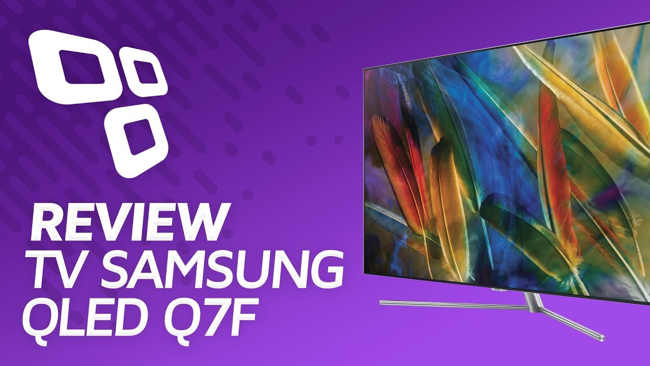 TV Samsung QLED Q7F - Review/Análise - TecMundo