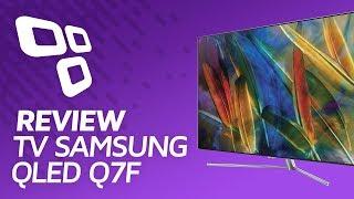 Телевизор Samsung QLED Q7F —/Anlise — TecMundo. QLED Телевизоры