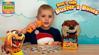 ИГРА: Собака Бастер и его косточки! Самый злой пес в мире. // Don't Take Buster's Bones game