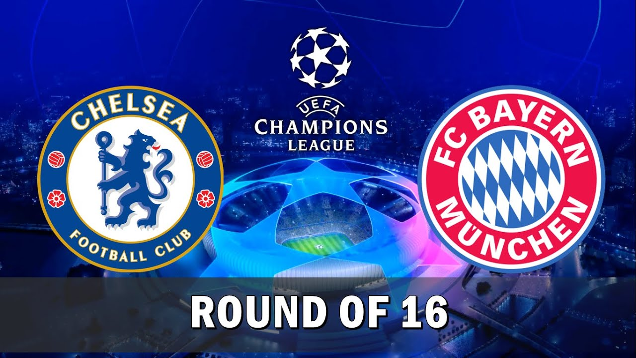 Image result for Chelsea vs Bayern Munich Champions League Round of 16