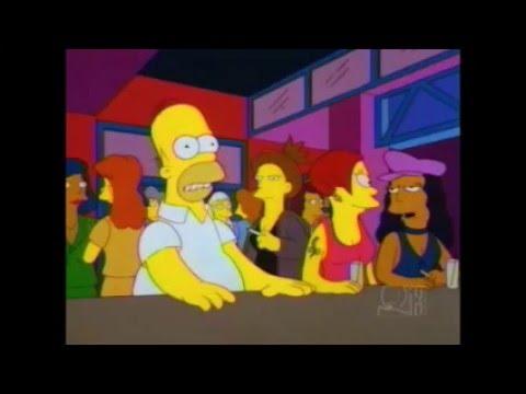 Simpsons lesbians