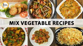 Mix Vegetable Recipes by Food Fusion