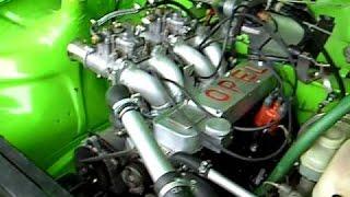 Восстановление Опель Кадет 1979 года после гонок.  Restoring Opel Kadett 1979 after the...