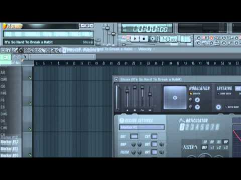 fl studio how to use slicex