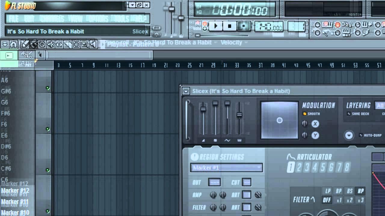 FL Studio 10 [Beginner] Tutorial - Sampling with Slicex - YouTube