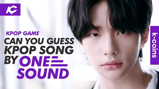 KPOP GAME - GUESS THE KPOP SONG BY ONE SOUND