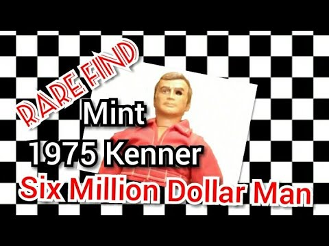Rare Find : Mint 1975 Kenner Six Million Dollar Man