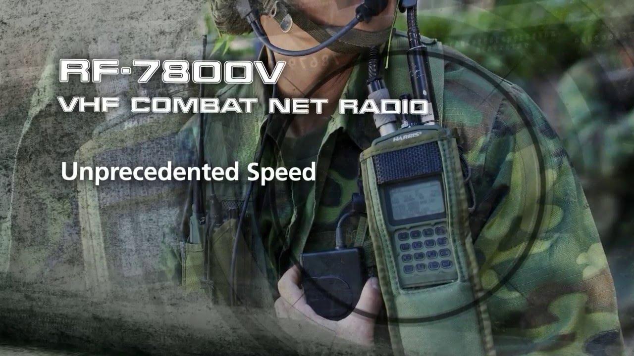 RF-7800V Handheld VHF Tactical Radio