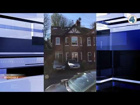 Телекомпанія TV-4: У Британії сусіди цілою вулицею привітали дівчинку, яка не змогла відзначити день народження