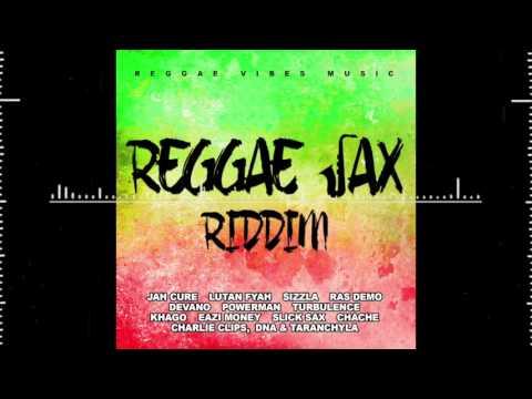 Reggae Sax Riddim album cover