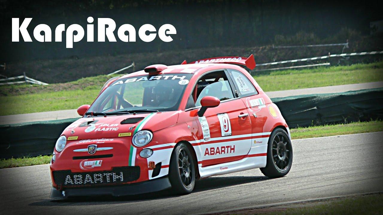 Abarth 500 etto Corse Competizione Race Car - YouTube