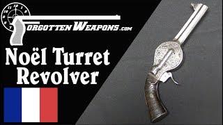 Noël's 10-Shot Pocket Turret Revolver