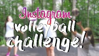 INSTAGRAM VOLLEYBALL CHALLENGE! // episode #2