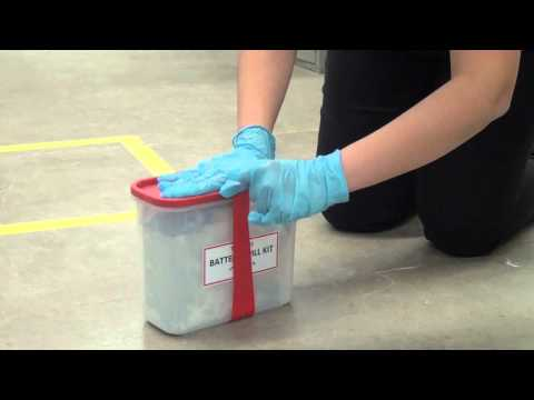 How to Clean Up a Battery Acid Spill