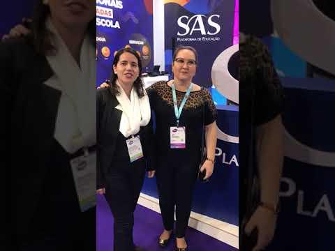 Xodó/Extensão X visitam o SAS na BETT EDUCAR 2019