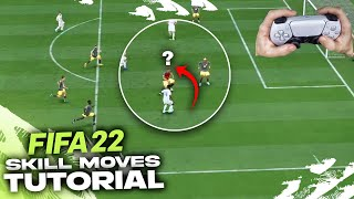 THE ONLY SKILL MOνES YOU NEED TO KNOW IN FIFA 22 - TOP 8 SKILLS TUTORIAL